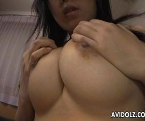 Sly and shy Asian babe getting her wet pussy finger fucked - 8 min