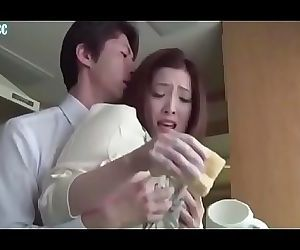 Japanese wife gets fucked by husband friend 9 min