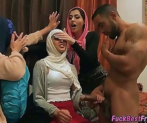 Hijab Bride Fucked By Stripper 8 min HD