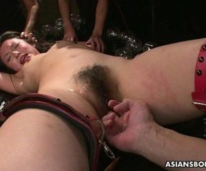 Slamming her with toys so she gets off hard - 8 min HD