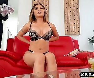 Asian housewife has her big dick butler fuck her pussy 7 min 720p