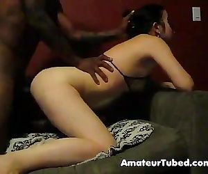 Asian housewife taking hubby 039 s bbc 2 min