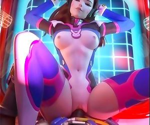 D.Va Gets Fucked by Lucio