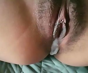 Morning creampie for my petite filipina GF