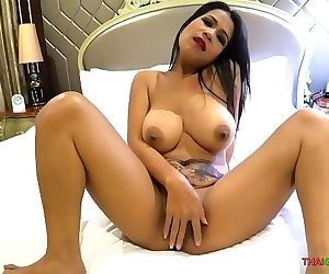 Big titty Asian hooker takes her customers cock nice and deep