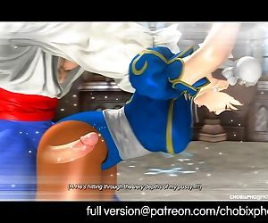 Chun-Li Fucked By Vega - Street Fighter SFM Movie