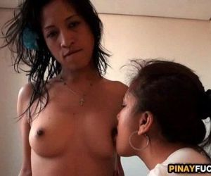 Asian Amateur FFM Motel Room Threesome - 6 min HD