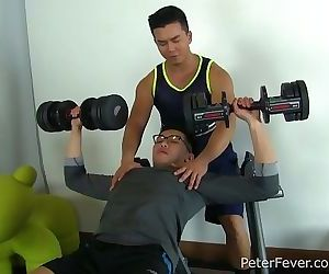 Asian Stud Alex Chu Gives Dylans Ass a Workout in Alexs Erotic Sessions